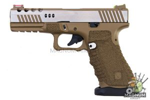 APS Dragonfly Desert D-Mod 2-Tone Pistol - Gas Version
