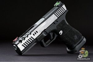 APS Dragonfly D-Mod Gas Blow Back Pistol ( 2 Tone / Co2 Version )