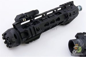 G&P Transformer Compact M4 Airsoft AEG with QD Front Assembly Cutter Brake