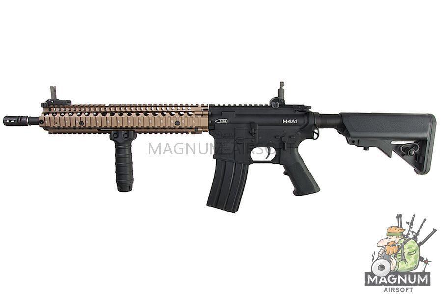 G&P Daniel Defense M4A1 AEG - Sand on Black