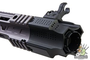 EMG Salient Arms Licensed GRY AR15 (M4) CQB AEG with Stubby Stock - Gray (by G&P)