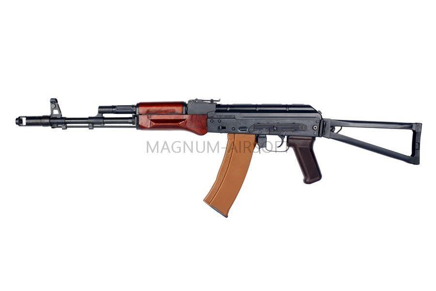 АВТОМАТ E&L RKS74N AEG Steel and real wood - Platinum EL-A105 (Gen2)