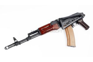 АВТОМАТ E&L RKS74N AEG Steel and real wood - Platinum EL-A105 (Gen2)