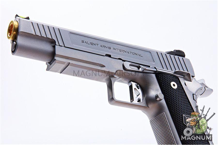 EMG SAI 5.1 Gas Blowback Pistols - Silver (by AW Custom)