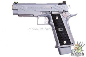 EMG SAI 4.3 Gas Blowback Pistols - Silver (by AW Custom)
