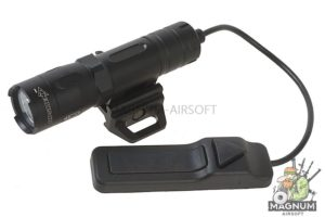 OPSMEN FAST 301R Weapon Light for Picatinny Rail (800 Lumen) - Black