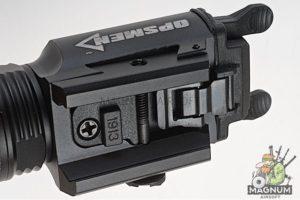 OPSMEN FAST 401 Ultra High Output Pistol Light (800 Lumen)