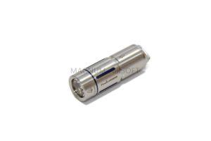 Фонарь аккумуляторный Fenix UC02SS серебристый с синими вставками