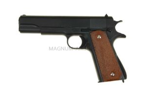 ПИСТОЛЕТ COLT1911 Classic black (Galaxy) G.13 SPRING
