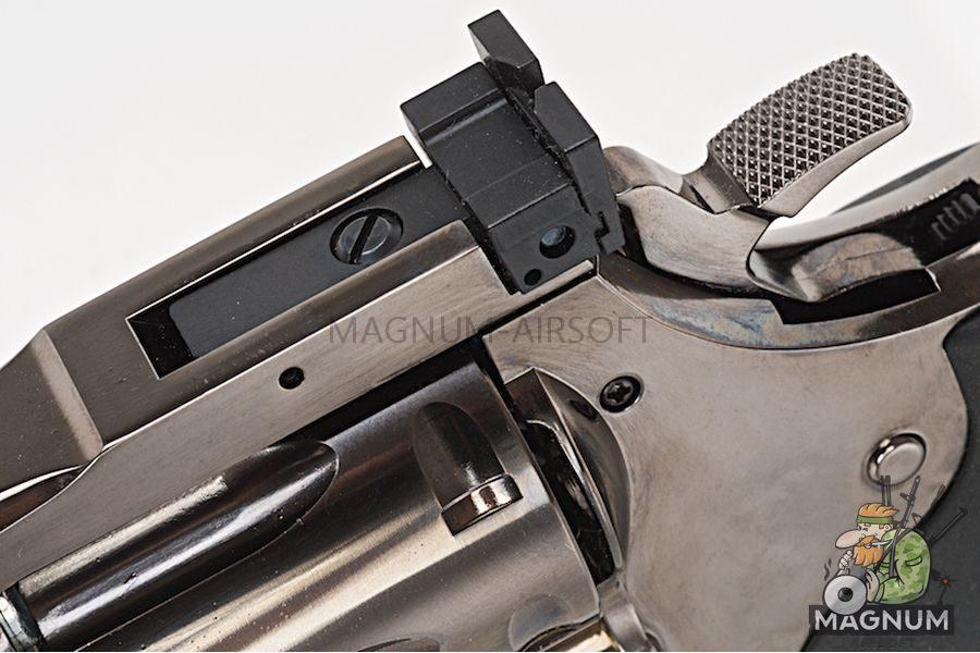 Gun Heaven ASG Dan Wesson 715 6 inch 6mm Co2 Revolver - Black