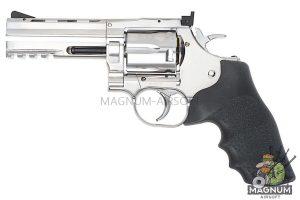 Gun Heaven ASG Dan Wesson 715 4 inch 6mm Co2 Revolver - Silver