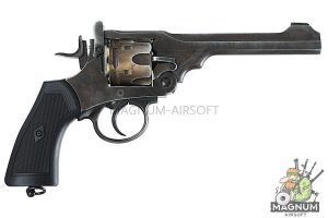 Gun Heaven (WinGun) 792 Webley MK VI  6mm Co2 Revolver - Weathered Version