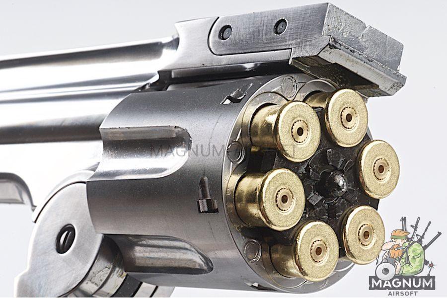 Gun Heaven 793 1877 MAJOR 3 6mm Co2 Revolver - Silver