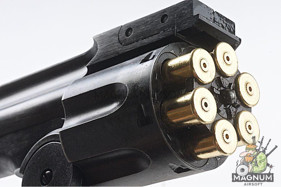 Gun Heaven 793 1877 MAJOR 3 6mm Co2 Revolver - Antique Black