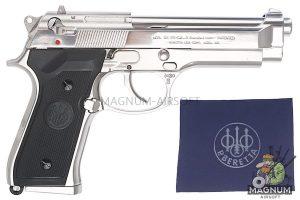 Gun Heaven (JP) M92 Full Metal Gas Pistol (6mm) - Silver