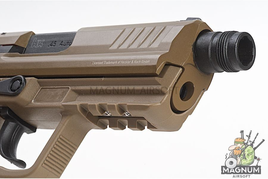 Umarex HK45 Compact Tactical (Asia Edition)  - FDE (by VFC)