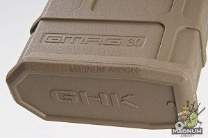GHK 40rds GMAG Gas Magazine for GHK G5 / M4 GBBR - TAN