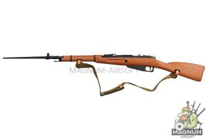 Gun Heaven (WinGun) Mosin-Nagant Co2 Bolt Action Rifle w/ Realistic Imitation Wood Furniture