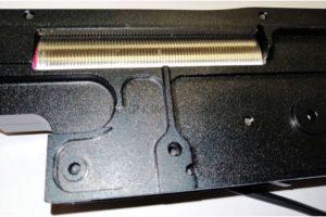 ГИРБОКС M249 фрезерованный в сборе 7075 Aluminum CNC ZCAIRSOFT M-317