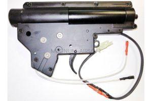 ГИРБОКС в сборе ver2 QD ZCAIRSOFT M-40A - быстрая замена пружины, 8mm втулки, микрик, проводка вперед