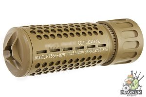GK Tactical KAC QDC / CQB Suppressor (14mm CCW) - TAN