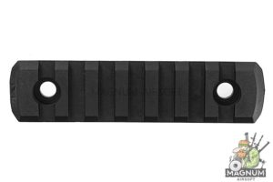 GK Tactical M-LOK Nylon 7 Picatinny Rail Sections (4pcs / Set) - Black