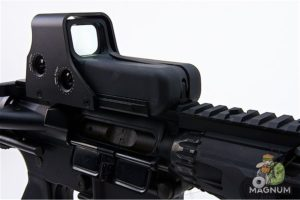 GK Tactical 552 Open Red Dot - Black