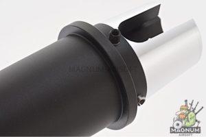 G&P 9.7 Inch Aluminum Taper Outer Barrel for G&P Taper Metal Body (14mm CW) - Black