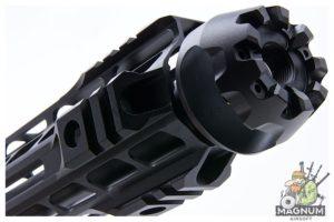 G&P Transformer Cutter Brake QD Front Assembly w/ 10.75 inch M-Lok Handguard