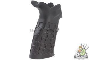 G&P Aluminum (CNC Process) Honeycomb Heat Sink Grip for Tokyo Marui & G&P M4 / M16 Series - Black