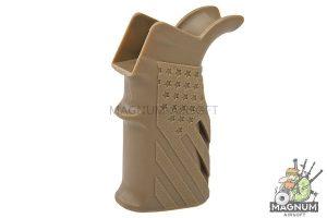 G&P US Flag Grip for Tokyo Marui / G&P M4 /M16 AEG Series - Sand