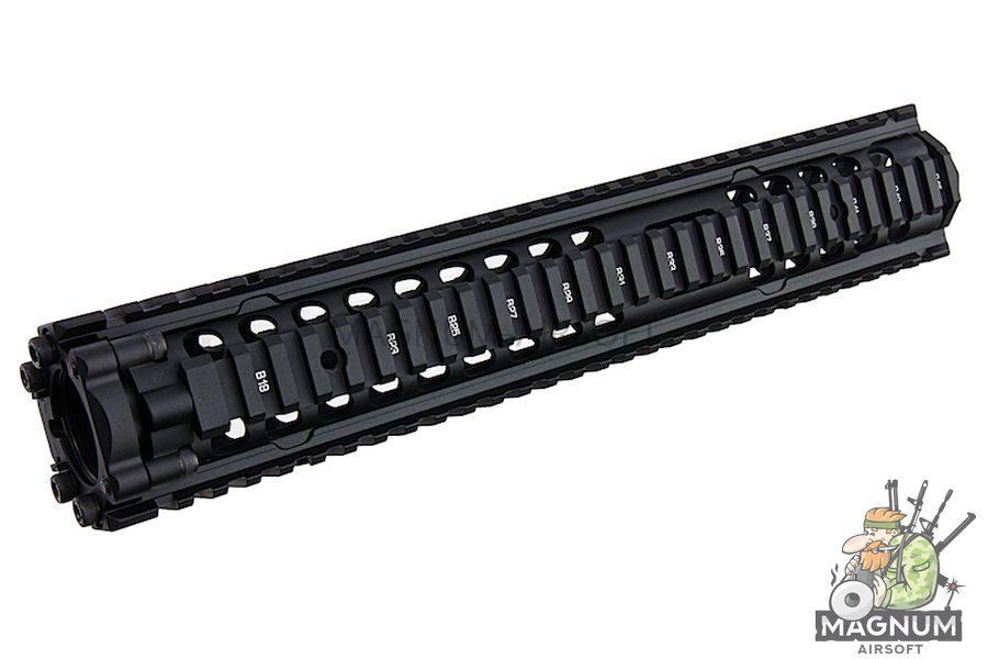 G&P Daniel Defense M4A1 12.5 inch RAS II for Tokyo Marui & G&P M4/ M16 Series - Black