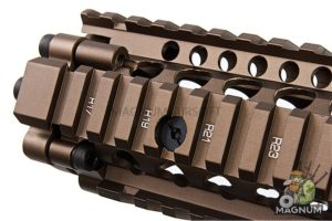 G&P Daniel Defense M4A1 12.5 inch RAS II for Tokyo Marui & G&P M4/ M16 Series - Sand
