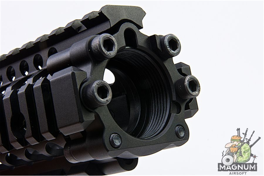 G&P Daniel Defense 4.5 inch RAS II for Tokyo Marui & G&P M4/ M16 Series  - Black