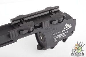 G&P Skull Frog Type Quick Lock QD M203 Grenade Launcher (XS) (Black)