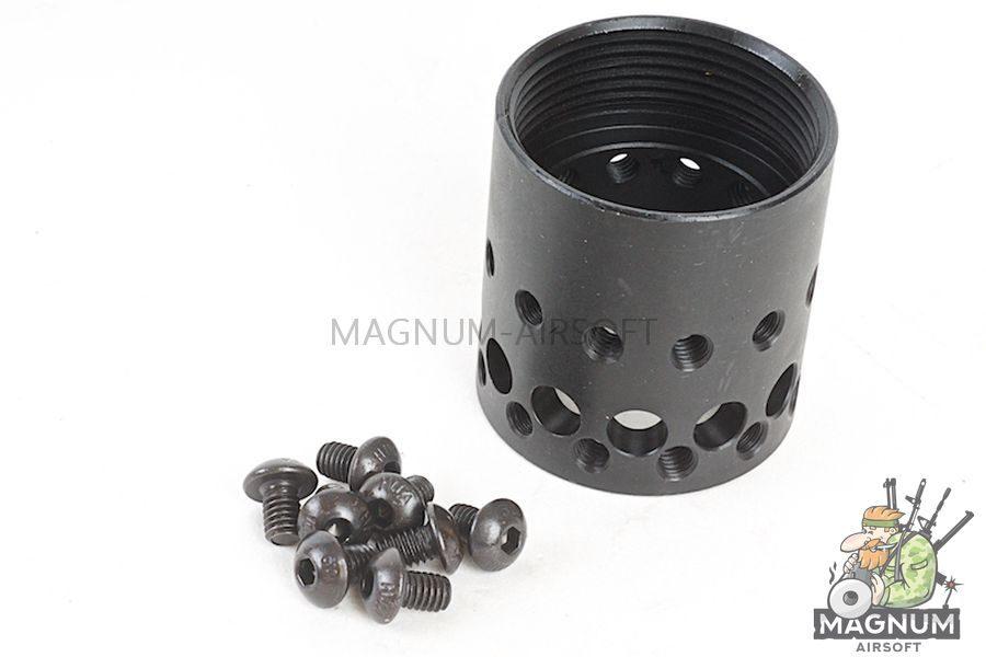 G&P MOTS II 10.75 Inch Keymod for Tokyo Marui M4 / M16 Series - Sand