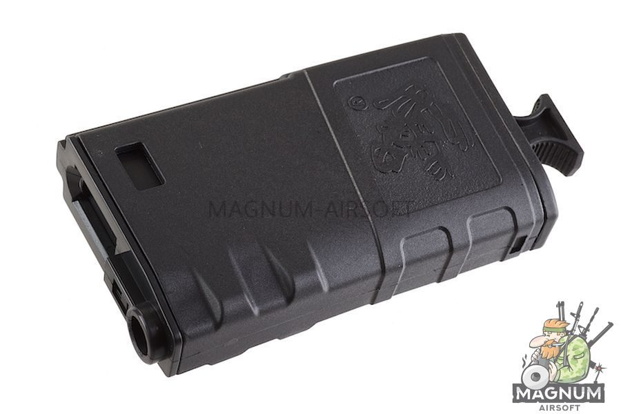 G&P Skull Frog 140rds Magazine w/ Handle (Black) for Tokyo Marui M16 Series (10pcs / Set)