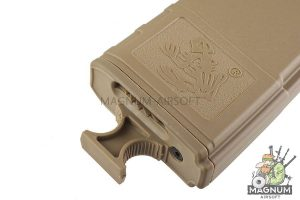 G&P Skull Frog 140rds Magazine w/ Handle (FDE) for Tokyo Marui M16 Series (10pcs / Set)