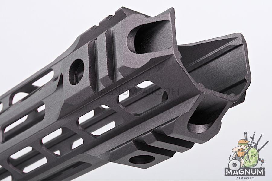 G&P 12.5 inch Upper Cut M-Lok for Tokyo Marui M4 / M16 & WA M4A1 Series - Gray
