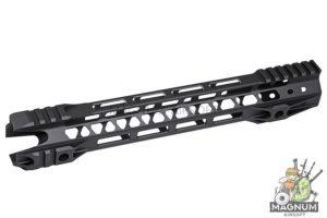 G&P 12.5 inch Phantom M-Lok for Tokyo Marui M4 / M16 & WA M4A1 Series - Black