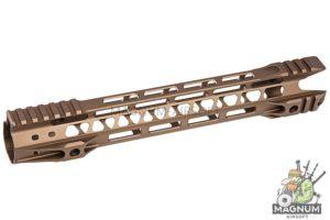 G&P 12.5 inch Phantom M-Lok for Tokyo Marui M4 / M16 & WA M4A1 Series - Sand