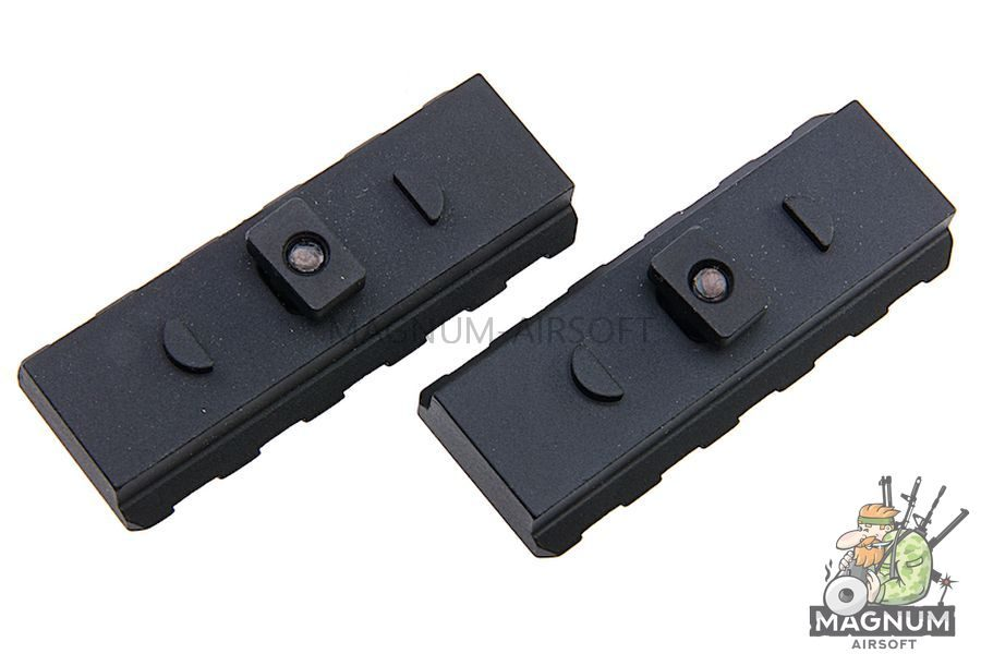 G&P M-Lok 54mm Rail Set -Black
