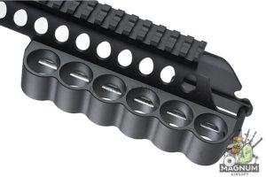 G&P Shot Shell Receiver Rail (Medium) for Tokyo Marui M870 Breacher