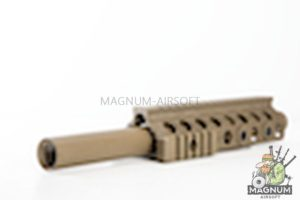 G&P Shotgun ForeArm Set A for G&P M870 Series (Long Rail) - Sand