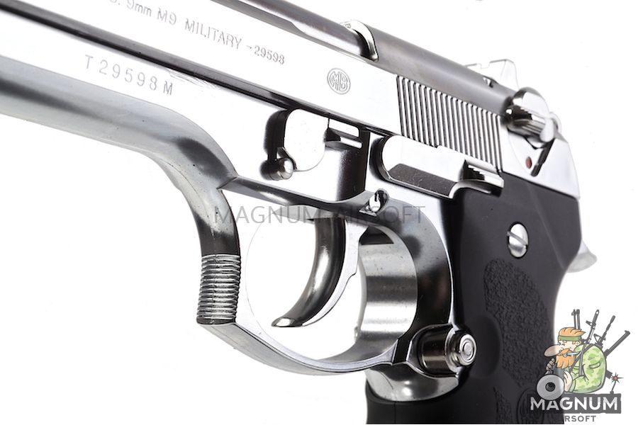 Tokyo Marui M92F Chrome Stainless Finishing Model