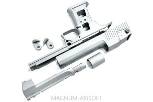 Guarder Aluminum Slide & Frame for MARUI Desert Eagle .50 - (Original/None Drawing)