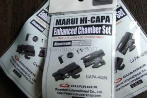Guarder Enhanced Hop-Up Chamber Set for MARUI HI-CAPA 4.3/5.1/Golden Match