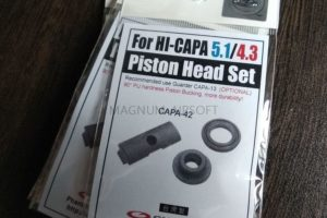 Guarder Enhanced Piston Head Set for MARUI HI-CAPA GBB