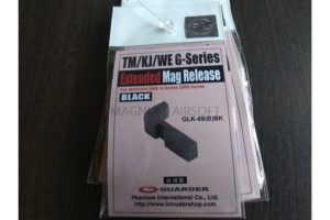 Guarder Extended Magazine Release for TM/KJ G Series (Black)