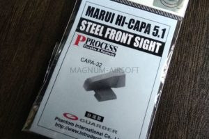 Guarder Steel Front Sight for TM HI-CAPA 5.1